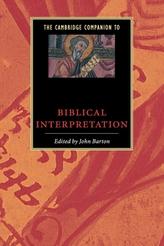 The Cambridge Companion to Biblical Interpretation