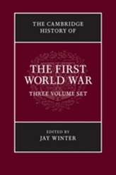The Cambridge History of the First World War 3 Volume Paperback Set