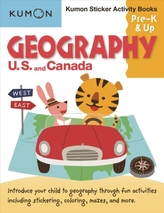 Geography Sticker Activity Book: US and Canada