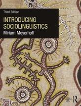 Introducing Sociolinguistics