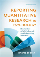 Reporting Quantitative Research in Psychology