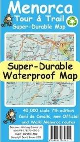 Menorca Tour & Trail Super-Durable Map (7th edition)