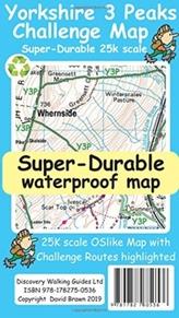 Yorkshire 3 Peaks Challenge Map
