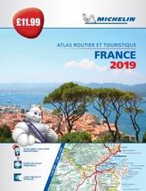 France 2019 - PB Tourist & Motoring Atlas