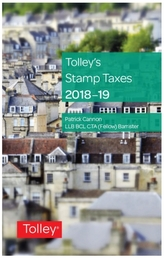 Tolley's Stamp Taxes 2018-19