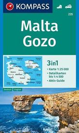 MALTA GOZO 235 GPS KOMPASS