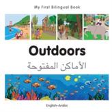 My First Bilingual Book - Outdoors - Polish-english