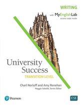 University Success Writing, Transition Level, with MyLab English