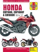 Honda CBF1000 & CB1000R Update (4927) ('06 To '16)