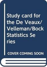 Study card for the De Veaux/Velleman/Bock Statistics Series