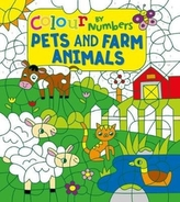 Colour by Numbers: Pets and Farm Animals