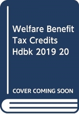 Welfare Benefits and Tax Credits Handbook