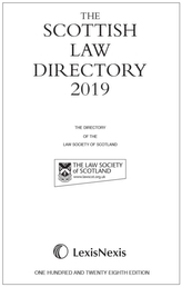 The Scottish Law Directory: The White Book 2019