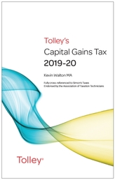 Tolley's Capital Gains Tax 2019-20 Main Annual