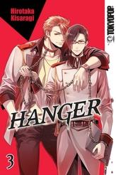 Hanger Volume 3 manga (English)