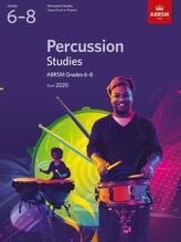 Percussion Studies, ABRSM Grades 6-8