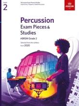 Percussion Exam Pieces & Studies, ABRSM Grade 2