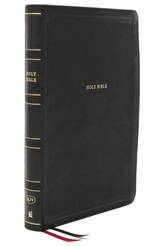 KJV, Thinline Bible, Giant Print, Leathersoft, Black, Red Letter, Comfort Print