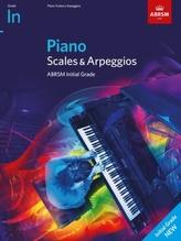 Piano Scales & Arpeggios, ABRSM Initial Grade