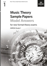 Music Theory Sample Papers Model Answers, ABRSM Grade 1