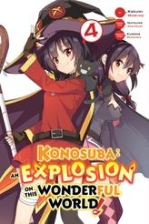 Konosuba: An Explosion on This Wonderful World!, Vol.4