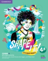 Shape It! Level 4 Combo B Student\'s Book and Workbook with Practice Extra