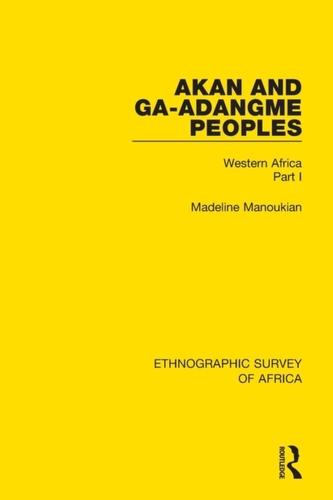 Akan and Ga-Adangme Peoples