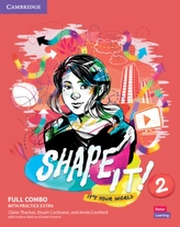 Shape It! Level 2 Full Combo Student\'s Book and Workbook with Practice Extra