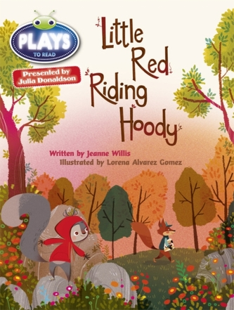 Julia Donaldson Plays Orange/1A Little Red Riding Hoody 6-pack