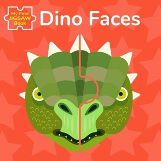 Dino Faces: My First Jigsaw Book