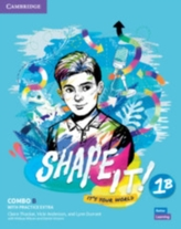 Shape It! Level 1 Combo B Student\'s Book and Workbook with Practice Extra