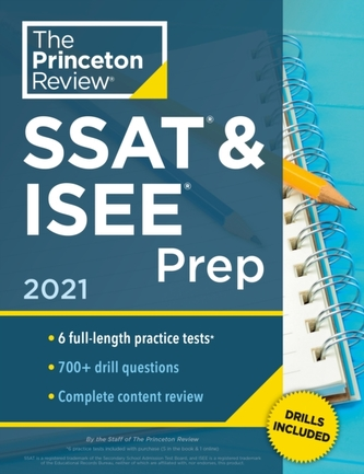 Princeton Review SSAT and ISEE Prep, 2021