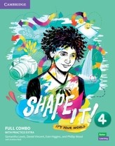 Shape It! Level 4 Full Combo Student\'s Book and Workbook with Practice Extra