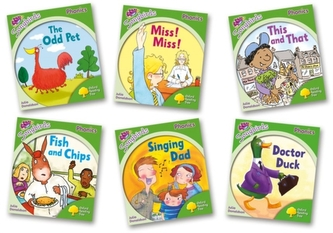 Oxford Reading Tree Songbirds Phonics: Level 2: Mixed Pack of 6