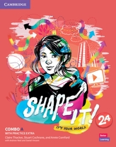 Shape It! Level 2 Combo A Student\'s Book and Workbook with Practice Extra
