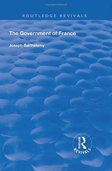 THE GOVERNMENT OF FRANCE 1919 REV