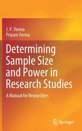 Determining Sample Size and Power in Research Studies