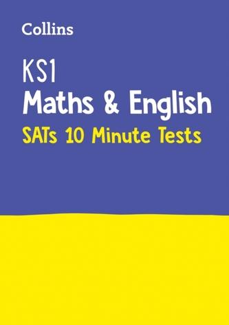 KS1 Maths and English SATs 10-Minute Tests
