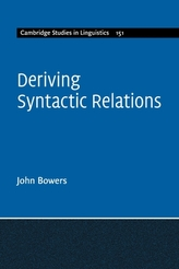 Deriving Syntactic Relations