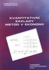Základy kvantitativních metod v ekonomii