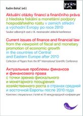 Aktuální otázky financí a finančního práva