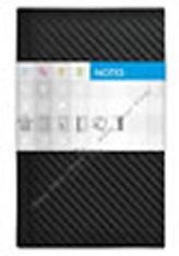 Notes Carbon černý linkovaný standard
