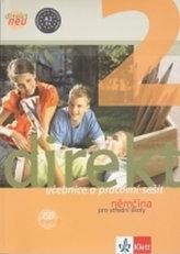 Direkt neu 2 – učebnice s pracovním sešitem a CD + výtah z cvičebnice německé gramatiky