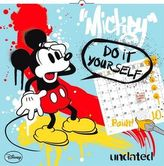 W. D. Mickey Mouse DIY - nástěnný kalendář 2016
