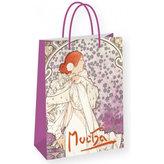 Alfons Mucha - La Dame - dárková taška střední
