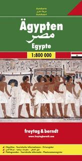 Automapa Egypt 1:800 000