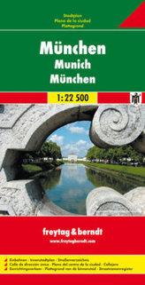 Plán města Mnichov 1:22 500