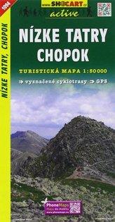 Nízké Tatry, Chopok 1:50 000