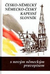 Česko-něměcký, německo český kapesní slovník