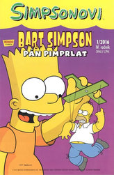 Simpsonovi - Bart Simpson 1/2016 - Pán pimprlat